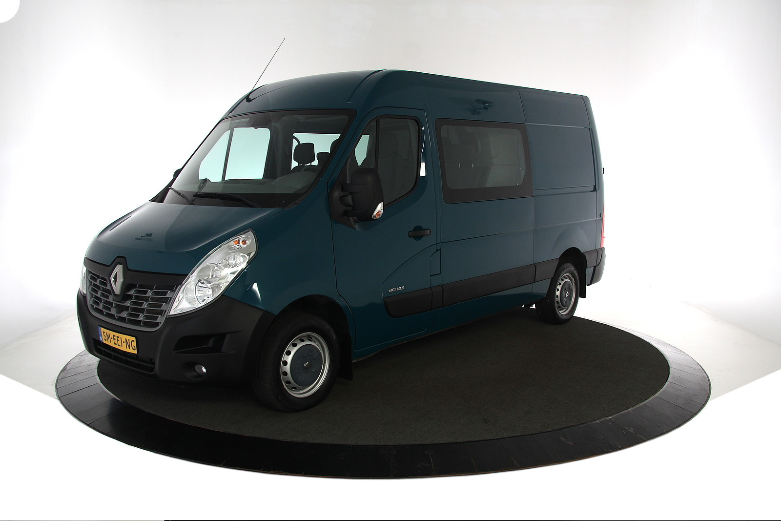 Renault Master T35 2.3 dCi 125PK L2H2 Dubbel Cabine 6 Persoons